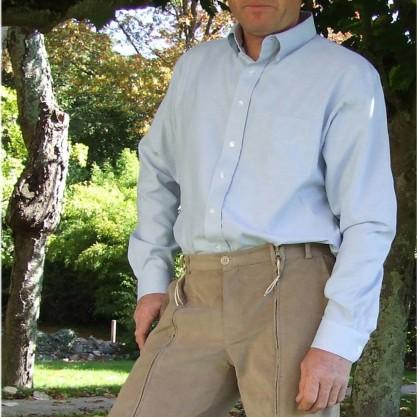 Homme chemise ciel habillage facile