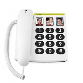 Téléphone à grosses touches Phone Easy 331ph Doro vue de face