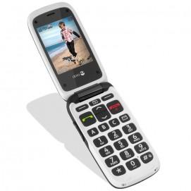 Téléphone mobile Phone Easy 612 Doro Noir / Blanc écran couleur avec photo