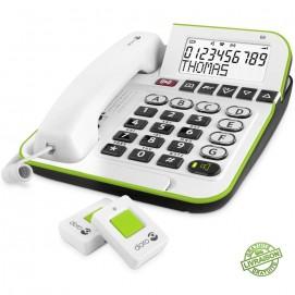 Téléphone appel d'urgence Secure 350 Doro avec ses pendentifs