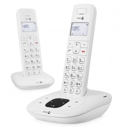 Doro téléphone-répondeur + combiné Dect Comfort 1015 duo
