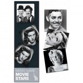 Mémo Stars du cinéma Hollywoodien