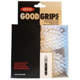 2 têtes de rechange brosse vaisselle distributrice de savon Oxo Good grips