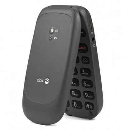 Doro téléphone mobile Phone Easy 606 semi plié vue extérieur