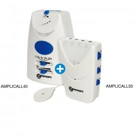 Amplicall 50 / 40 système surveillance à distance et appel urgence