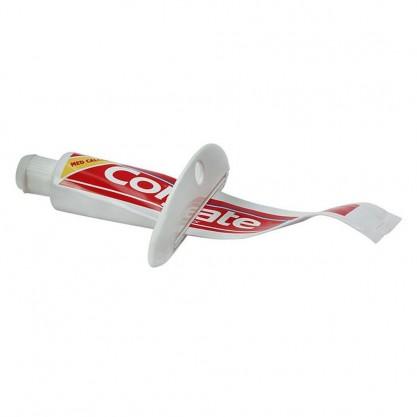 vide tube dentifrice en situation