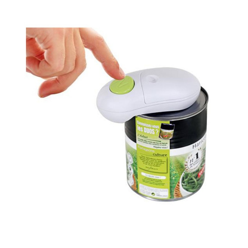 Ouvre bo te one touch universel le bean toutes bo tes de conserve - Comment ouvrir une boite de conserve avec ouvre boite ...