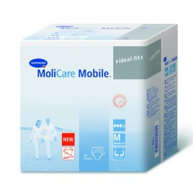 Sachet slips absorbants Molicare mobile Taille M