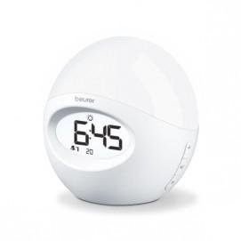 Réveil lumière Beurer WL32 éclairé blanc
