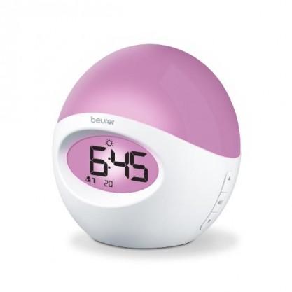 Réveil lumière Beurer WL32 éclairé violet