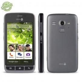 Doro smartphone Liberto 820 Mini Face côté dos Argent Noir