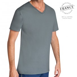 Tee-shirt homme manches courtes meilleur sommeil anthracite