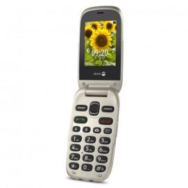 Doro 6030 téléphone mobile champagne ouvert