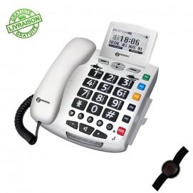 Téléphone amplifié appel d'urgence Serenities de Geemarc