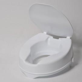 Rehausseur toilette 10cm avec couvercle