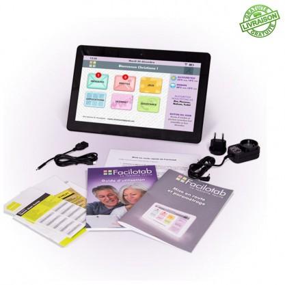 Tablette Facilotab Wifi 13.3 pouces contenu boîte