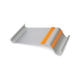 Support tablette aluminium seul