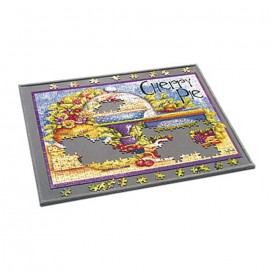 Plateau porte-puzzle rigide et non-glissant