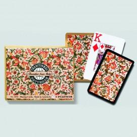 Coffret de 2 jeux de cartes très lisibles - Florentin