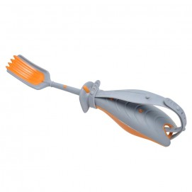 Fourchette ergonomique St-Romain haute qualité - orange