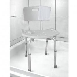 Chaise de douche hauteur ajustable Médisana