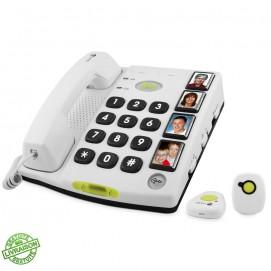 Téléphone appel d'urgence Secure 347 Doro de côté