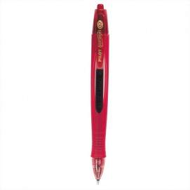 Stylo bille ergonomique Alphagel - rouge
