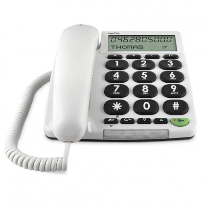 Téléphone HearPlus 313ci Doro pour malentendants vue d'ensemble