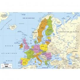 Puzzle d'art 50 grosses pièces Carte d'Europe carte