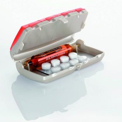 Pilbox Daily pilulier quotidien Clémentine avec ampoule