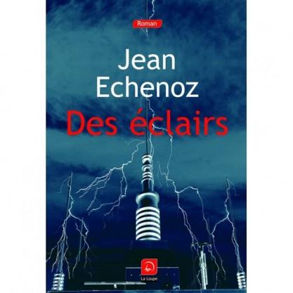 Echenoz Jean - Des éclairs - Couverture