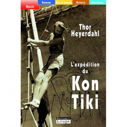 Heyerdahl Thor - L'expédition du Kon-Tiki - Grands caractères t.17 - couverture