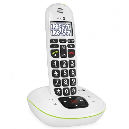 Doro téléphone répondeur Phone Easy 115 blanc