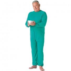 Grenouillère Homme Confort longue vert face