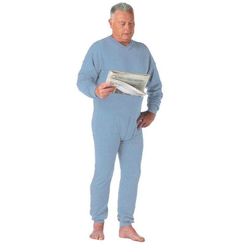 qualité de la marque attrayant et durable dernières tendances de 2019 Grenouillere homme adulte sous-vêtement ou pyjama