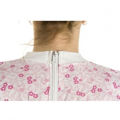 Grenouillère Femme Légère fleurette rose dos