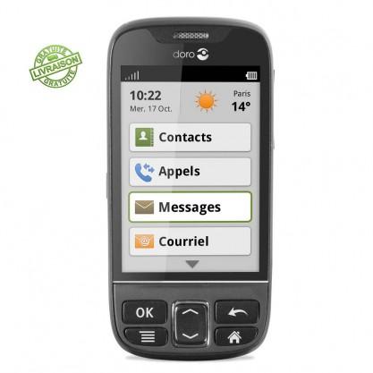 Doro smartphone Phone Easy 740 de face