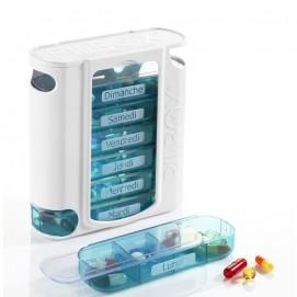 Pilulier hebdomadaire Pilbox7 module sorti et médicaments