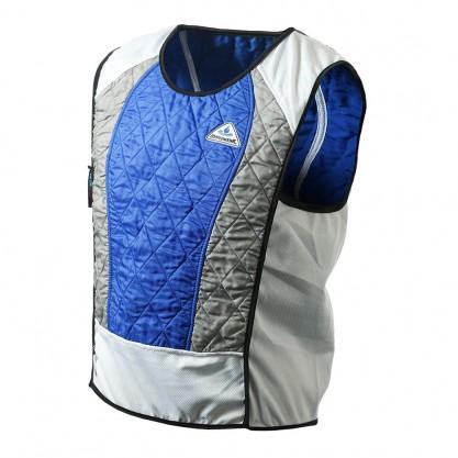 Chasuble rafraîchissante mixte Ultra sport bleu et argent Hyperkewl
