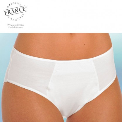 Slip incontinence urinaire femme blanc