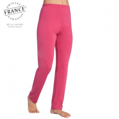 Pantalon pyjama femme meilleur sommeil framboise