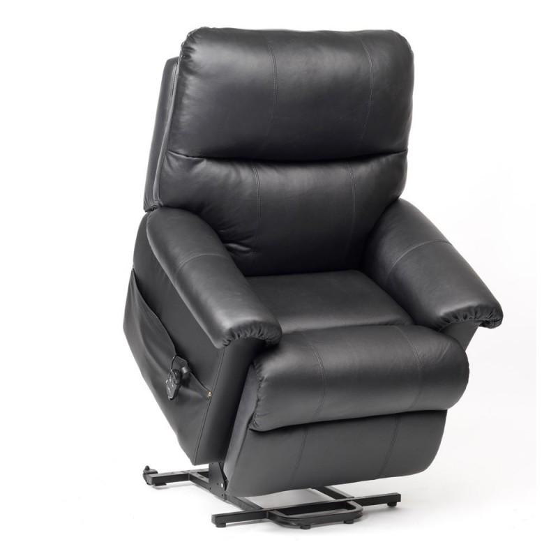 fauteuil de relaxation cuir borg 2 moteurs. Black Bedroom Furniture Sets. Home Design Ideas