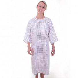 Chemise malade femme semis devant