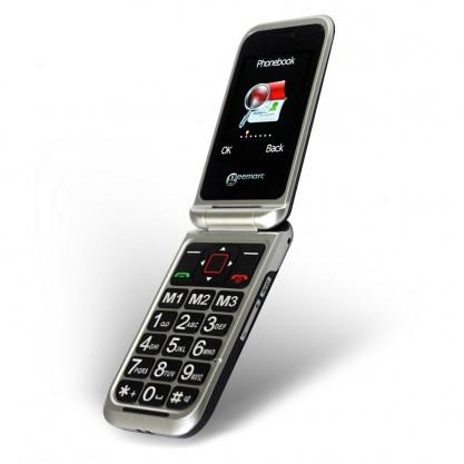 téléphone portable à clapet pour senior