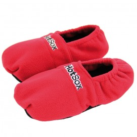 Chaussons chauffants Hot Sox 36-40 rouges