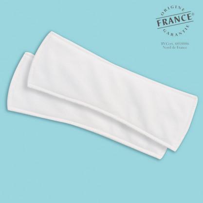 2 protections intraversables légères lavables femme