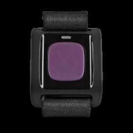 Bracelet d'urgence pour mobiles Doro aubergine