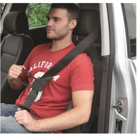 Tire ceinture de sécurité en situation