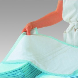 Alèses absorbantes Molinea Plus pour l'incontinence dépliée