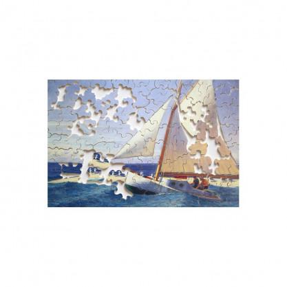 Puzzle Le bateau à voile HOPPER - puzzle